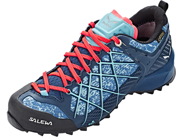 SALEWA Wildfire GTX Shoes Dam poseidon/capri